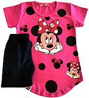 "Летний костюм (комплект) для девочки (рост 110), ""Monaco"" Турция"