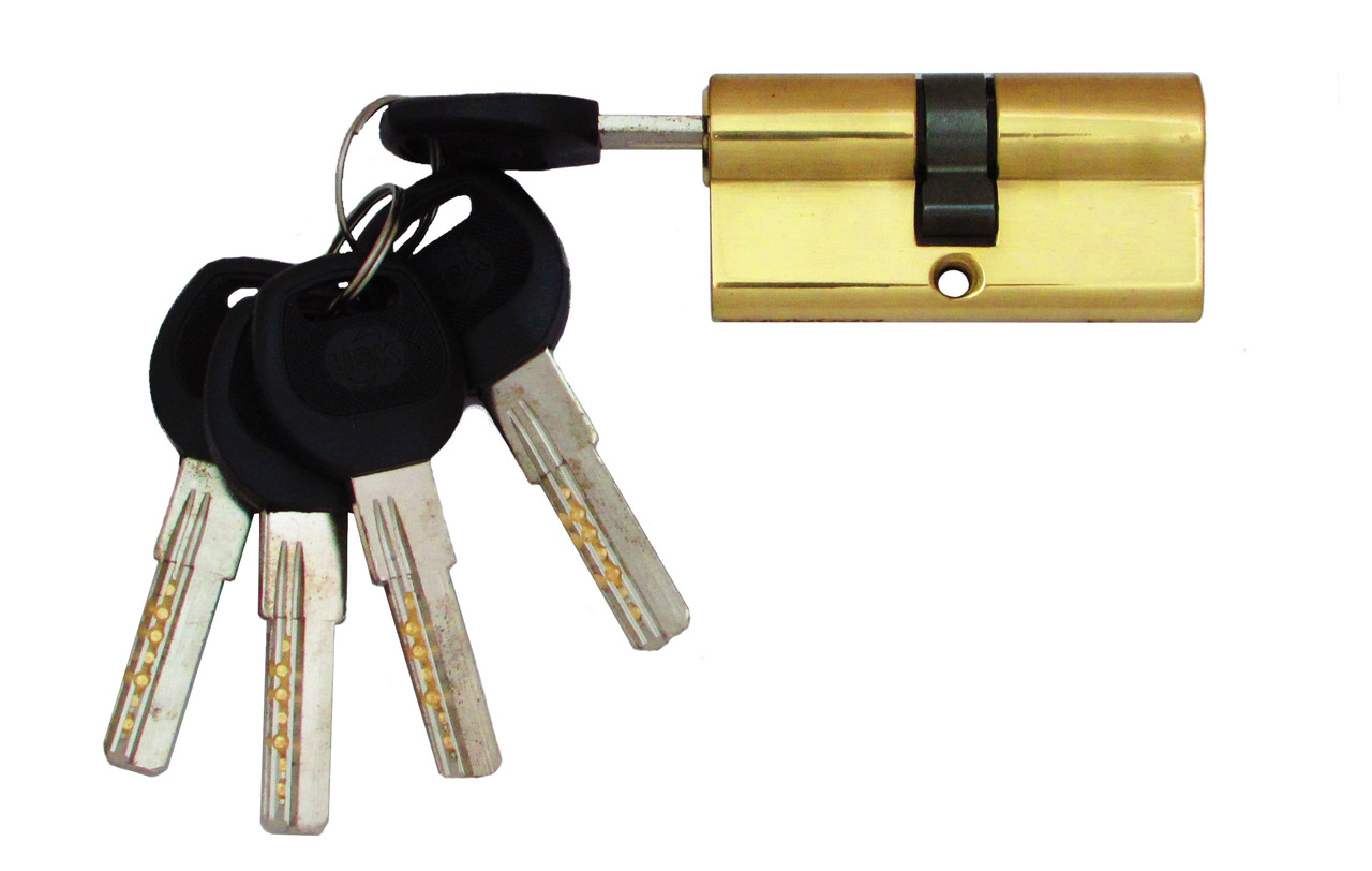 Цилиндровый механизм USK B-60 (30x30) ключ/ключ