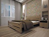 Ліжко з натурального дерева Атлант 1 140х200