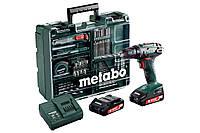 Аккумуляторный дрель-шуруповерт Metabo BS 18 Mobile Workshop (602207880), фото 1
