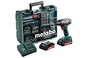Аккумуляторный дрель-шуруповерт Metabo BS 18 Mobile Workshop (602207880)