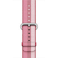 Ремешок для часов Apple Watch 42 мм 44 мм нейлоновый с пряжкой, Berry color, фото 3