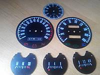 Шкалы приборов ВАЗ 2106 в стиле muscle car mustang, фото 1