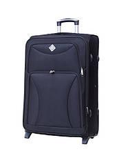 Дорожный чемодан на колесах Bonro Tourist Черный Большой