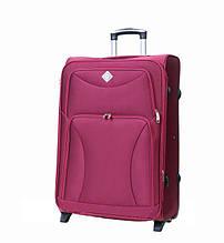 Дорожный чемодан на колесах Bonro Tourist Вишневый Большой
