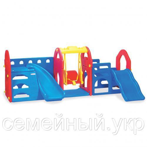 Детский игровой комплекс. Размер 256х156х101 см. M 5403-3-4 Bambi