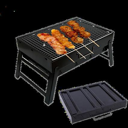 Складной барбекю гриль портативный гриль BBQ Grill Portable №A183, фото 2