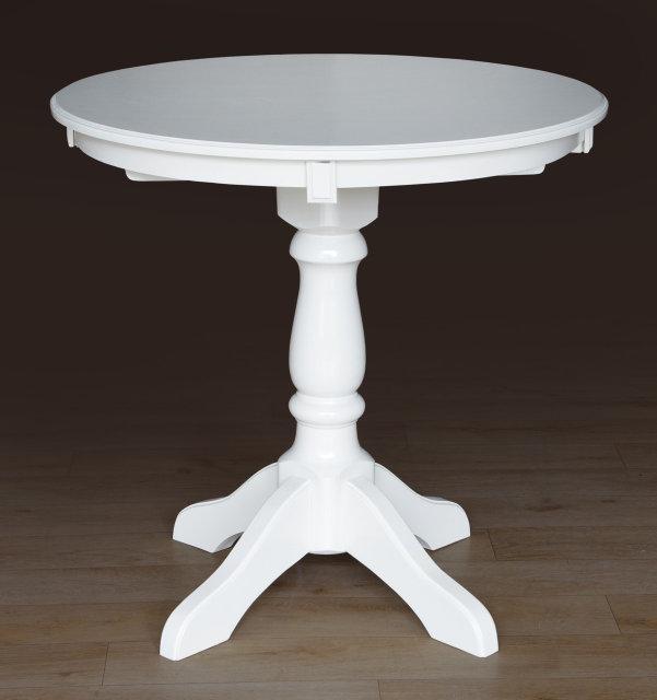 Стол обеденный Микс Мебель Чумак(D=80) Слоновая кость