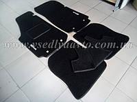 Ворсовые коврики AUDI A6 1991-1997 г. (Черные)