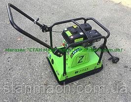 Бензиновая виброплита ZI-RPE120GY уплотнение 35см