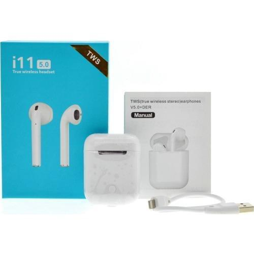 Bluetooth Наушники i11 TWS сенсорные! Новинка!