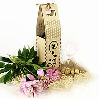 """Декоративная коробка для вина """"Сердца"""""""