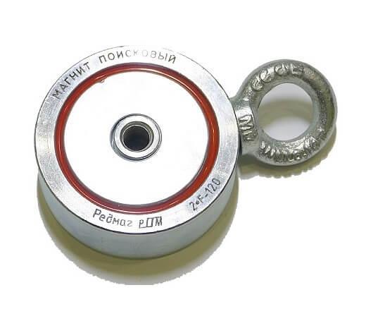 Поисковый магнит 2F120 двухсторонний Редмаг