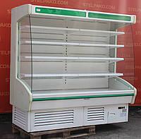Холодильная горка (Регал) «Juka R 210/90 Martini» 1.9 м. (Польша), новый компрессор, Б/у, фото 1