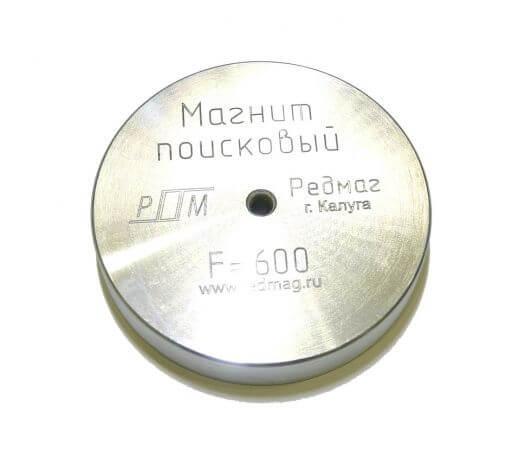 Поисковый магнит F600 Односторонний Редмаг
