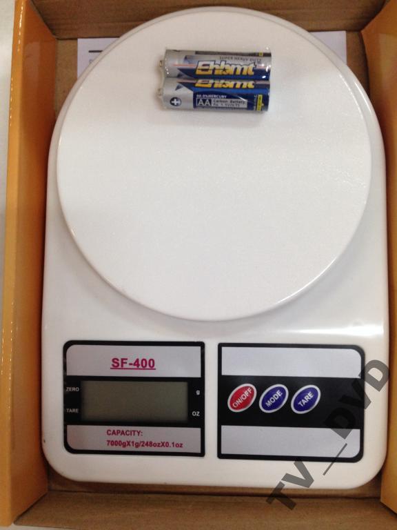 Весы кухонные электронные SF-400 10 кг 1г   Акция !!