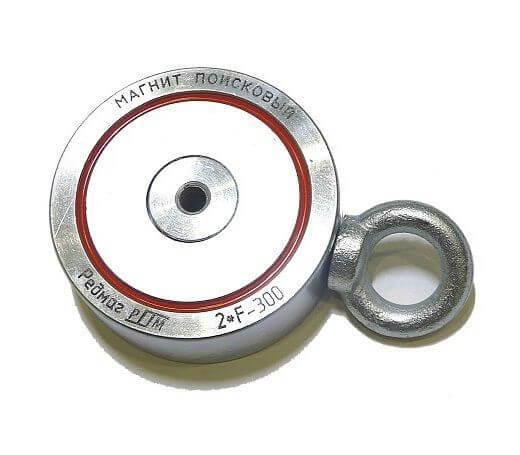 Поисковый магнит 2F300 двухсторонний Редмаг