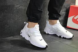 Кроссовки мужские Nike Presto React, белые / чоловічі кросівки Найк (Топ реплика ААА+)