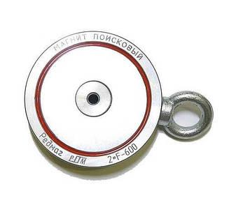 Поисковый магнит 2F600 двухсторонний Редмаг, фото 2