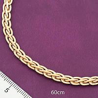 Цепочка позолоченная Xuping. Медицинское золото. Размер 60см*6мм