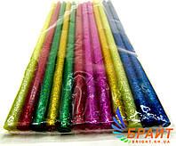 Комплект цветных клеевых стержней 7 мм, 12шт