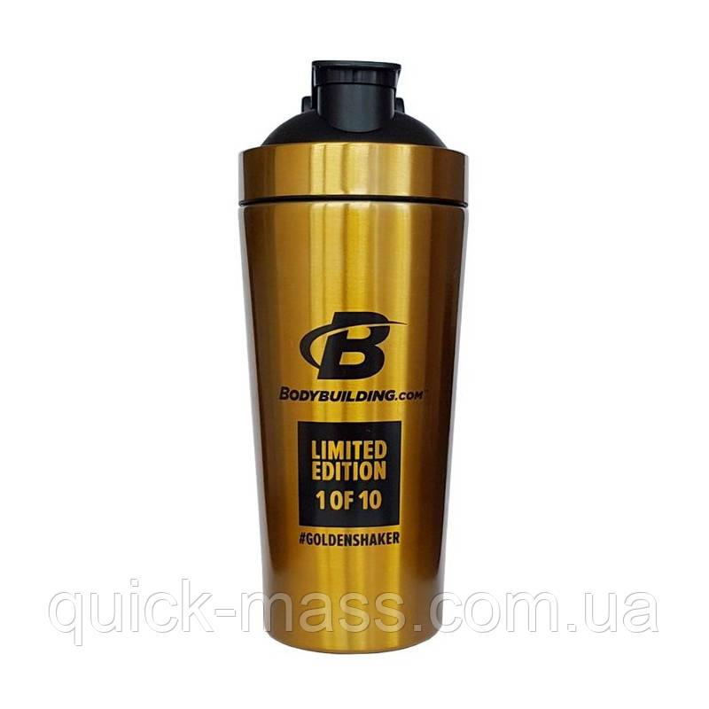 Шейкер Bodybuilding Gold Steel 700ml