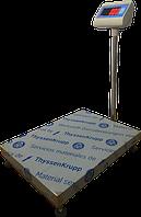 Електронні ваги товарні платформні ВПД -608 ЕТ 600, кг