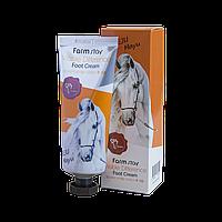 Крем для ног с конским жиром FarmStay Jeju Mayu Foot Cream