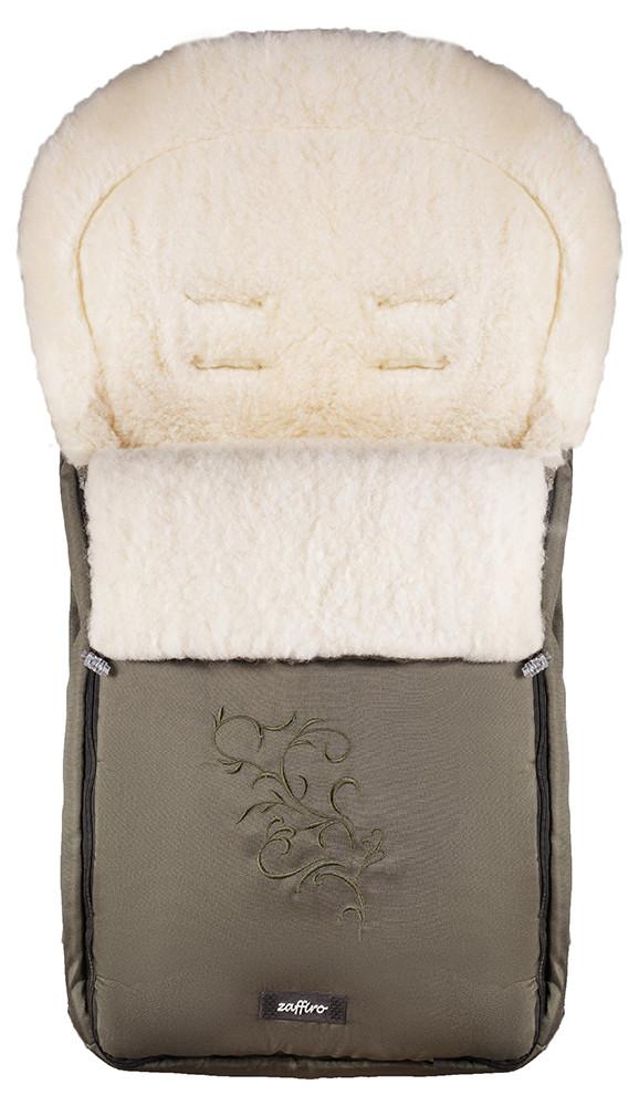 Зимний конверт Womar (Zaffiro) №25 с вышивкой  хаки