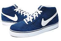 Кроссовки мужские Nike 6.0 Mavrk Mid, кроссовки найк 6.0 маврк синие, обувь найк оригинал