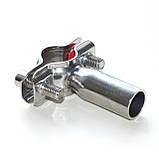 Хомут трубний з круглим держателем Ду32 DIN, фото 8