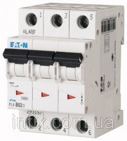 Автоматический выключатель PL6-C10/3
