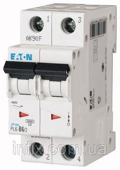 Автоматический выключатель PL6-C6/2