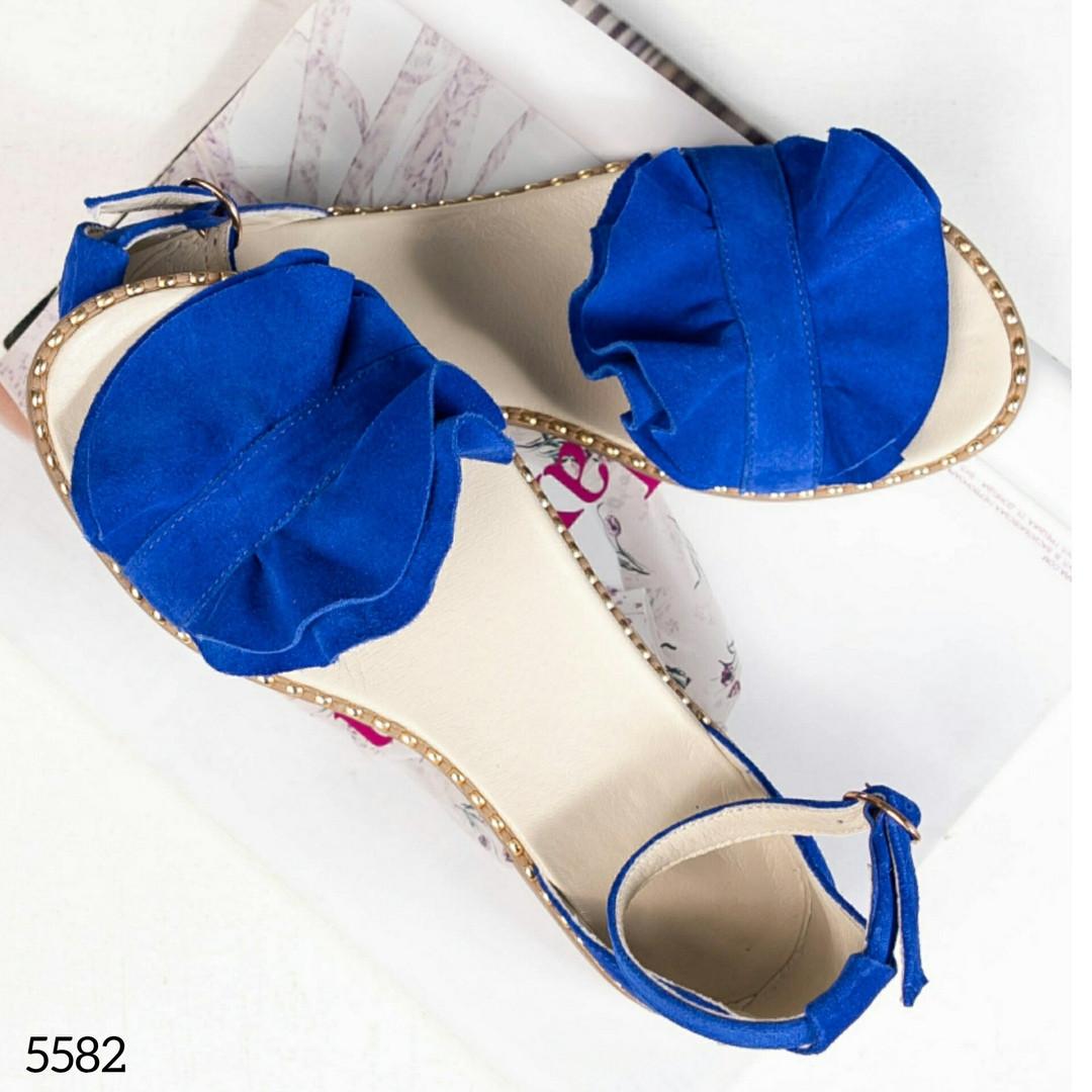Женские замшевые босоножки - сандалии Hermes (копия)