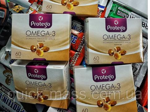 Омега-3 Protego Omega-3 60caps