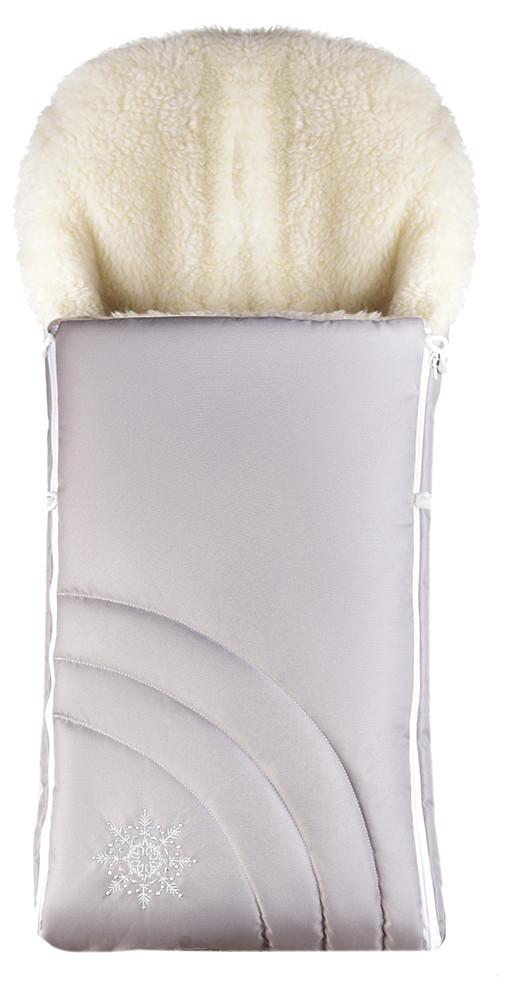Зимний конверт Наталка NT-012  св.серый (снежинка)