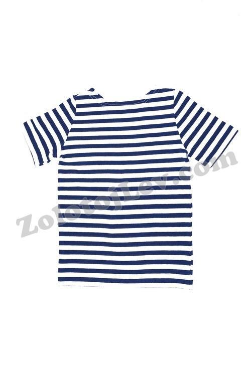 Тельняшка футболка х/б 7 - 14 лет