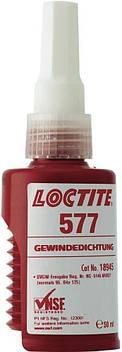 Резьбовой герметик средней прочности гелеобразный Loctite 577, 50 мл