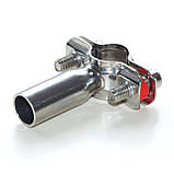 Хомут трубный с круглым держателем Ду80 DIN, фото 4