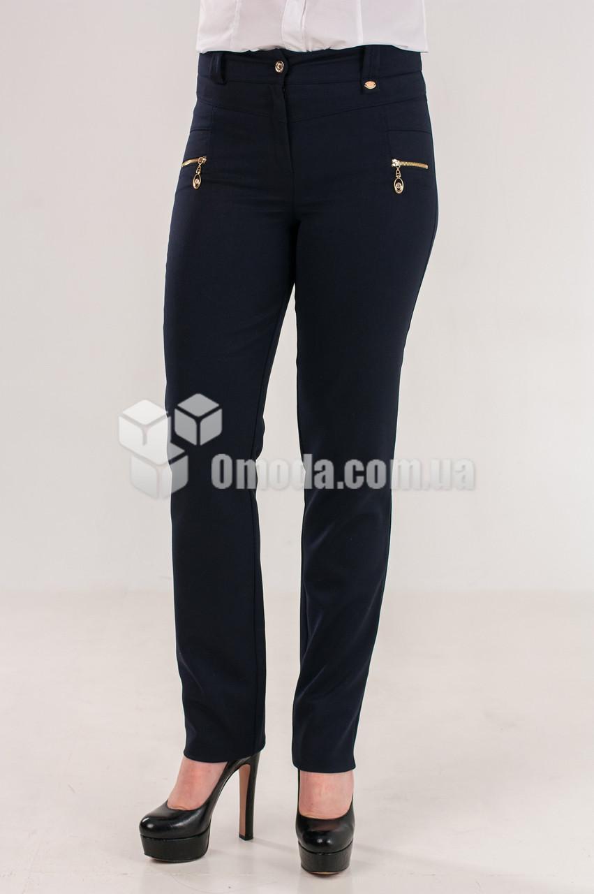 Женские брюки Орнелла синего цвета