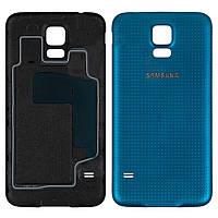 Задняя панель корпуса (крышка аккумулятора) для Samsung Galaxy S5 G900 Синий