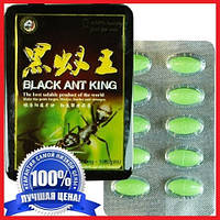 BLACK ANT KING (Королівський Чорний Мураха) - засіб для посилення ерекції і зміцнення пеніса, 10 табл., БАД