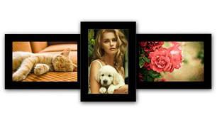 Мультирамки на 3 фото
