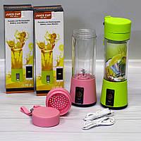 Портативный блендер Smart Juice Cup Fruits от USB, фото 1