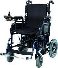 Коляска инвалидная, с двигателем, складная (JT-101)
