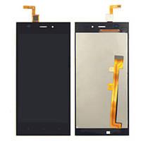 Модуль (дисплей + сенсор) Xiaomi Mi 3 + Touchscreen Black