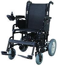 Коляска инвалидная, с двигателем, складная (JT-100)