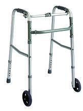 Ходунки, шагающие, педиатрические, с колесиками (PR-443)