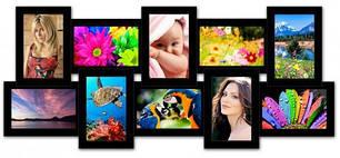 Мультирамки на 10 фото