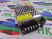 Блок питания 48W, 12V, 4А (48Вт, 12В, 4А) для светодиодных лент, модулей, линеек MR-48-12